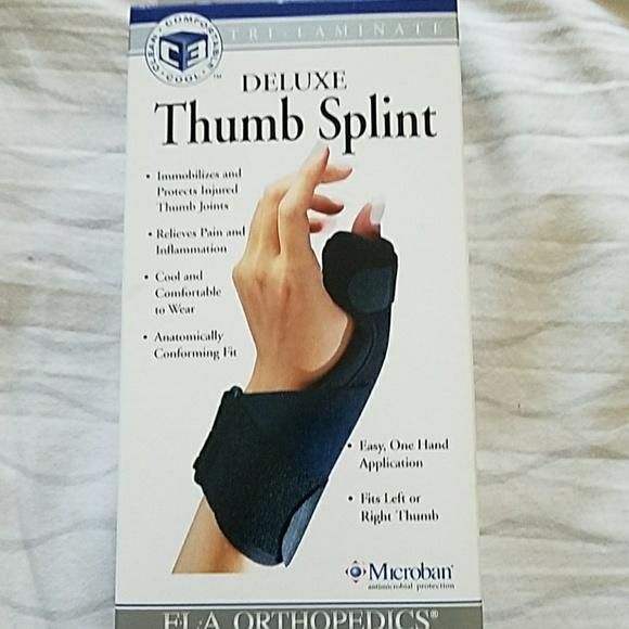 Jacob thumb splint